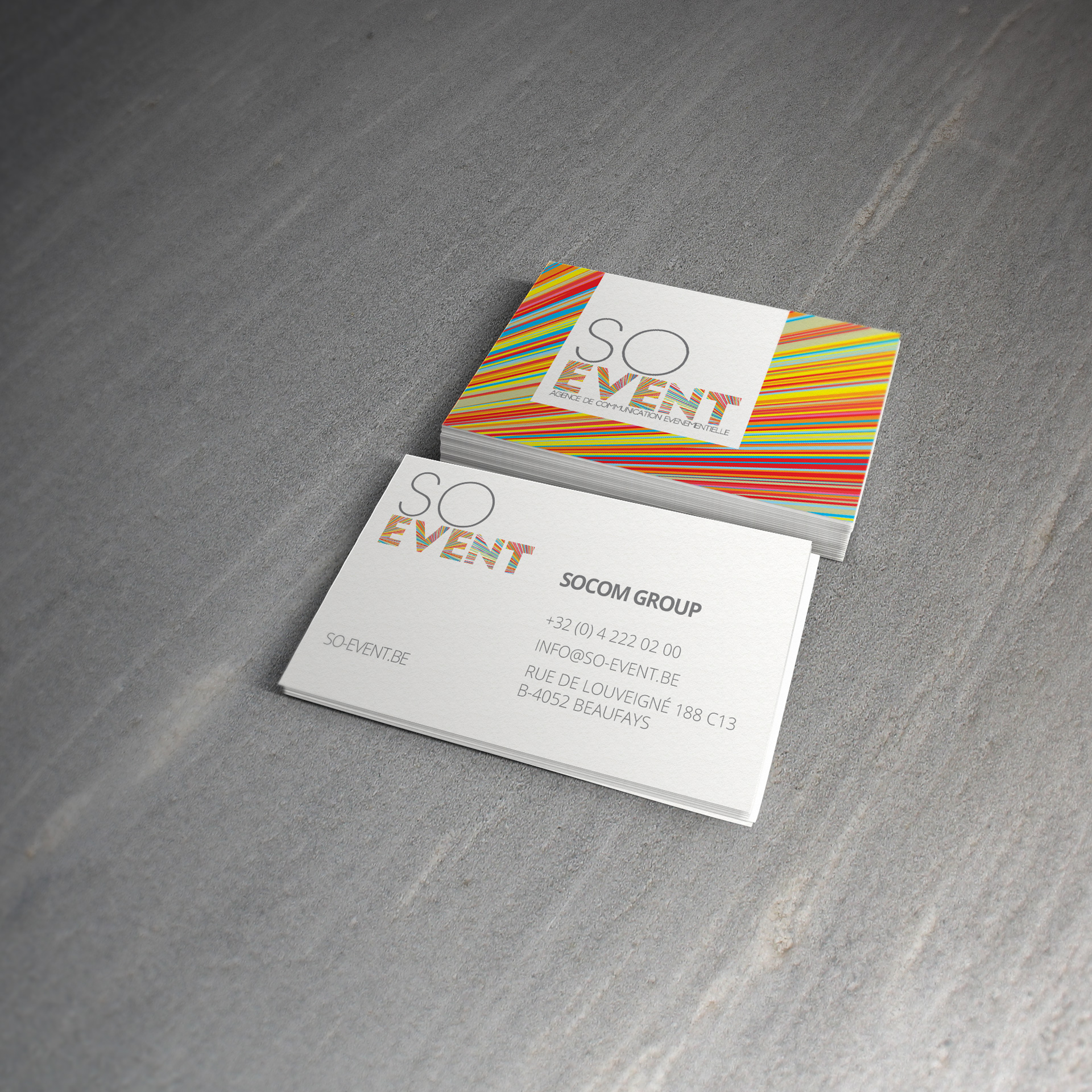 SO EVENT CARTE DE VISITE